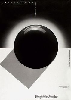 typo-graphic-work:    Title: Eidgenössisches Stipendium Kornhaus Bern   Designer: Jeker Werner   Year: 1989