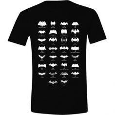 CAMISETA BATMAN - EVOLUCION LOGO XL