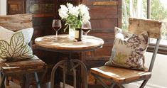 Rustic Bistro Table + Chairs | REstyleSOURCE