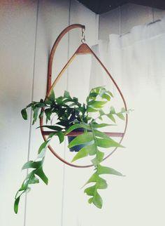Mid-century plant hanger