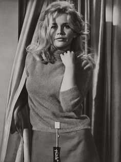 """Tuesday Weld, 1966 """"Twelve Cashmere sweaters!"""""""
