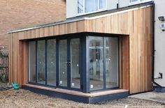 House Extension Pictures/Photo Gallery: Home Extensions Examples Flat Pack Extensions, Bungalow Extensions, House Extensions, Extension Veranda, Roof Extension, Extension Ideas, Extension Google, House Cladding, Exterior Cladding