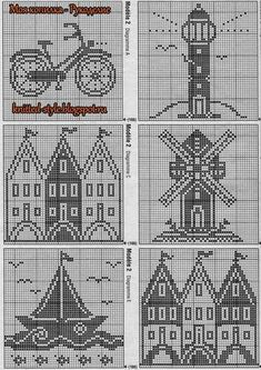 Superb photo - take a look at our story for many more choices! Filet Crochet Charts, Knitting Charts, Cross Stitch Charts, Crochet Stitches, Cross Stitch Patterns, Knitting Patterns, Crochet Tunic Pattern, Crochet Blanket Patterns, Crochet Bookmarks