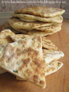 Kuchenne wędrówki Shinju: Chlebki z patelni