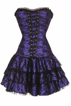 New Women Gothic Boned Corset with G-string top sexy dress bustier clubwear S M L XL XXL (M, Purple) Pandolah,http://www.amazon.com/dp/B00EC0EKUU/ref=cm_sw_r_pi_dp_TYNjsb12A0Q0N3W3