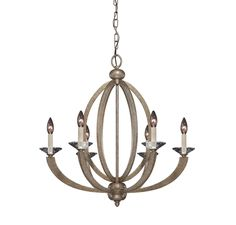 Forum 6 Light Chandelier :: Chandeliers :: Products :: Savoy House Lighting