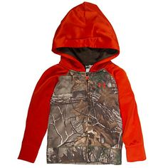 #New Under Armour Toddler Boys Realtree Camo Raglan Full-Zip Hoodie  #Realtreecamo