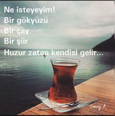 Banner Drawing, Turkish Tea, Turkish Language, French Quotes, My Tea, Meaningful Words, In My Feelings, Cool Words, Emoticon