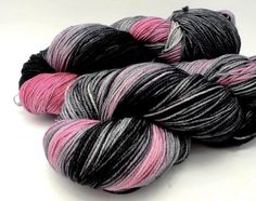 Paris At Last  Hand Dyed Yarn  Dyed to Order by DyeabolicalYarns, $18.00