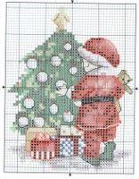 """(17) Gallery.ru / tymannost - album """"demande Cross Stitch fou 169 Novembre 2012 + Co Noël"""""""