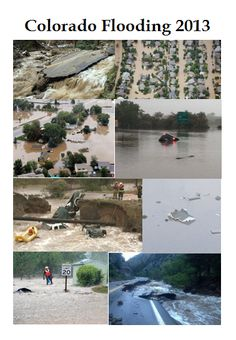 My heart goes out to the people who have lost their homes, businesses, and loved ones to the Colorado flood of 2013.