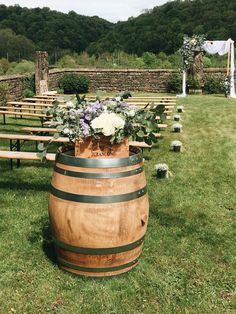 Wedding Ceremony Decorations, Table Decorations, Spring Wedding, Our Wedding, Deco Champetre, Decoration Entree, Cata, Healthier You, Weeding