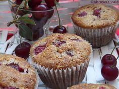 Kipróbált és bevált receptek: Meggyes-diós muffin