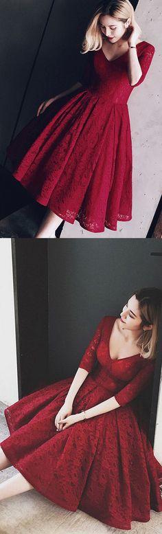 Burgundy Dresses, Lace Dresses, Princess Dresses