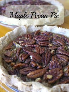 Do you like Pecan pie? It's one of my favorites for Thanksgiving anytime. There's no reason to make it with corn syrup and refined sugar when using maple syrup and unrefined sugar is so delicious. The maple flavor is not overpowering nor is it overly sweet. Maple Pecan Pie For the crust (or use your …
