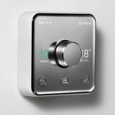 """Yves Behar's Thermostat For British Gas Aimed At """"everyone From Your Grandma To Your Auntie"""" - http://decor10blog.com/decorating-ideas/yves-behars-thermostat-for-british-gas-aimed-at-everyone-from-your-grandma-to-your-auntie.html"""