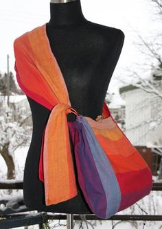 Slingyroo wrap scrap bag. Swoon. Want one in earth rainbow.