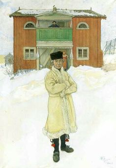 Daniels Mats ~ carl larsson - like the house Carl Larsson, Stockholm, Arts And Crafts Movement, Large Painting, Museum Of Fine Arts, National Museum, Creative Art, Printmaking, Illustrators
