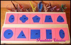 Resaques Metálicos Montessori
