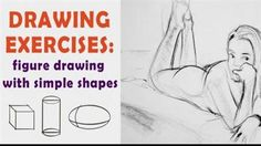 Drawing Exercises Figure Drawing with Simple Shapes