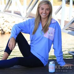 The Southern Marsh Field Tec Dune Monogram Pullover was created for transitional performance. Made of Polyester. Monogram Pullover, Marley Lilly, Southern Marsh, Monogram Gifts, Seersucker, Lakeside Cotton, Style Inspiration, Sweatshirts, Sweaters