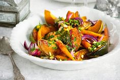 Maple-roasted Vegies With Orange And Pine Nut Gremolata Recipe - Taste.com.au