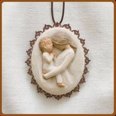 mother son christmas ornament - Google Search