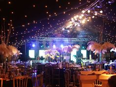 Full service special event production company providing unique creativity and producers for conferences, theme events, gala dinners, awards nights...