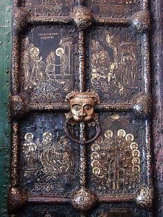 Russian church doors