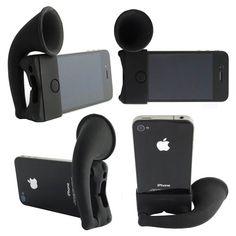 Idée cadeau iPhone haut parleurs écolo sans électricité | Des idées de cadeaux