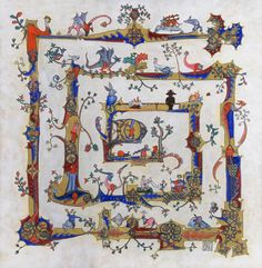 The Macclesfield Psalter - a blend of drolleries by nikeyvv.deviantart.com on @deviantART