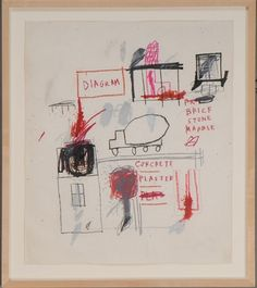 View Truck by Jean-Michel Basquiat on artnet. Browse upcoming and past auction lots by Jean-Michel Basquiat. Jean Michel Basquiat, Sandro Chia, Guggenheim Bilbao, Oil Pastel Art, Tape Art, Unusual Art, Watercolor Print, American Artists, Doodle Art