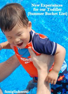 Connecting Family and Seoul: New Experiences for our Toddler {Summer Bucket List}