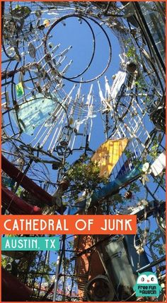 Cathedral of Junk in Austin, Texas is a must-do for tourists and Austinites alike!The Cathedral of Junk in Austin, Texas is a must-do for tourists and Austinites alike! Texas Vacations, Texas Roadtrip, Texas Travel, Travel Usa, Dallas Travel, Family Vacations, Family Travel, Austin Texas, The Places Youll Go