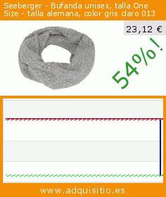 Seeberger - Bufanda unisex, talla One Size - talla alemana, color gris claro 013 (Ropa). Baja 54%! Precio actual 23,12 €, el precio anterior fue de 50,77 €. https://www.adquisitio.es/seeberger/bufanda-unisex-talla-one-2