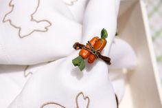 Porta-guardanapo de cenourinha by Theodora Home para decoração de Páscoa