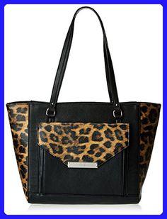 a312d95dd Nine West Ava 60337766 Shoulder Bag,Black/Black,One Size - Shoulder bags