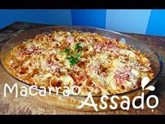MACARRÃO ASSADO DELICIOSO | Cozinhando com Edu