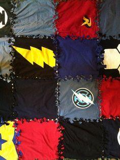 No Sew T-Shirt Blanket | No-sew t-shirt blanket | Simplicity's Sake