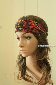 #womens headband#floral headband#Multicolored#wide headband