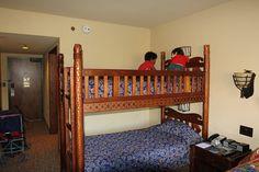 Bunk Beds at Disney's Animal Kingdom Lodge