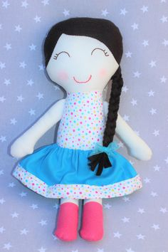 Muñeca Sofía niña bebé regalo personalizado muñeca de por Pittitus