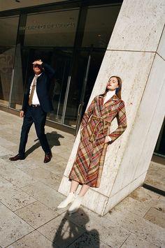 Nylon Magazine December 2017 Sophia Skloss by Kate Owen - Fashion Editorials Kate Owen, Guy Bourdin, Anti Fashion, Mario Testino, Tim Walker, Editorial Fashion, Outerwear Jackets, Fashion Photography, Plaid