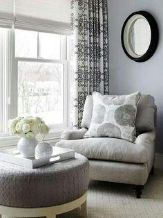 Comfy chair in the corner / bedroom