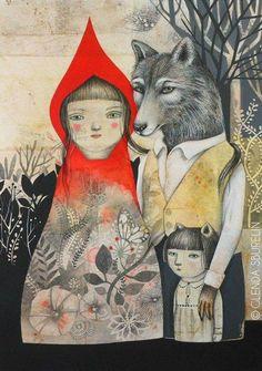 #illustration #art #GlendaSburelin