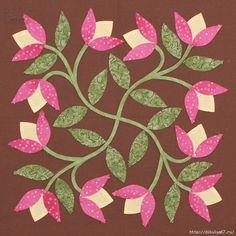 Blackwork Patterns, Hand Embroidery Patterns, Applique Patterns, Applique Quilts, Embroidery Applique, Quilt Patterns, Quilting Projects, Quilting Designs, Hand Applique