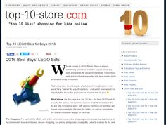 2016 Best Boys' LEGO Sets - Top 10 List @ Top 10 Store