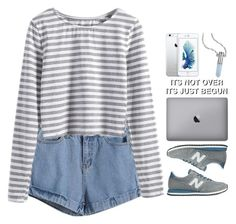 """Beautifulhalo 1"" by emilypondng ❤ liked on Polyvore featuring New Balance, Bullet and bhalo"