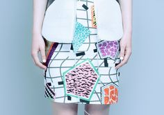 """MARGAUX DEREUME - collection """"Disegno"""" for SS14"""