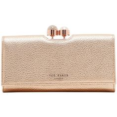 Ted Baker Marta Leather Matinee Purse ( 110) ❤ liked on Polyvore featuring  bags 44251677d964f